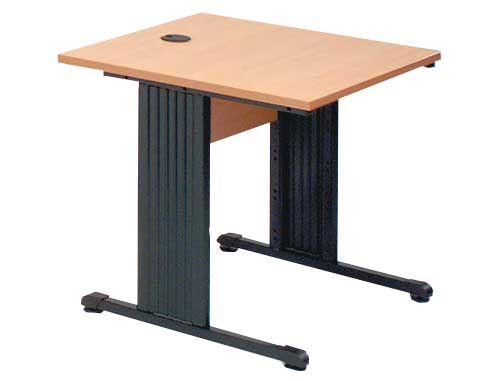 Bureaux informatiques table informatique fixe quartz for Mobilier informatique scolaire