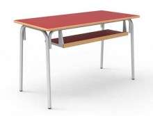 table-scolaire-double